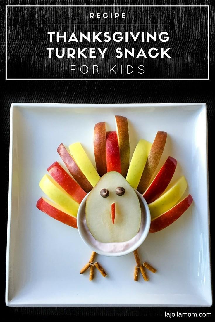 Kids Recipe Turkey Fruit Amp Yogurt Snack For Thanksgiving