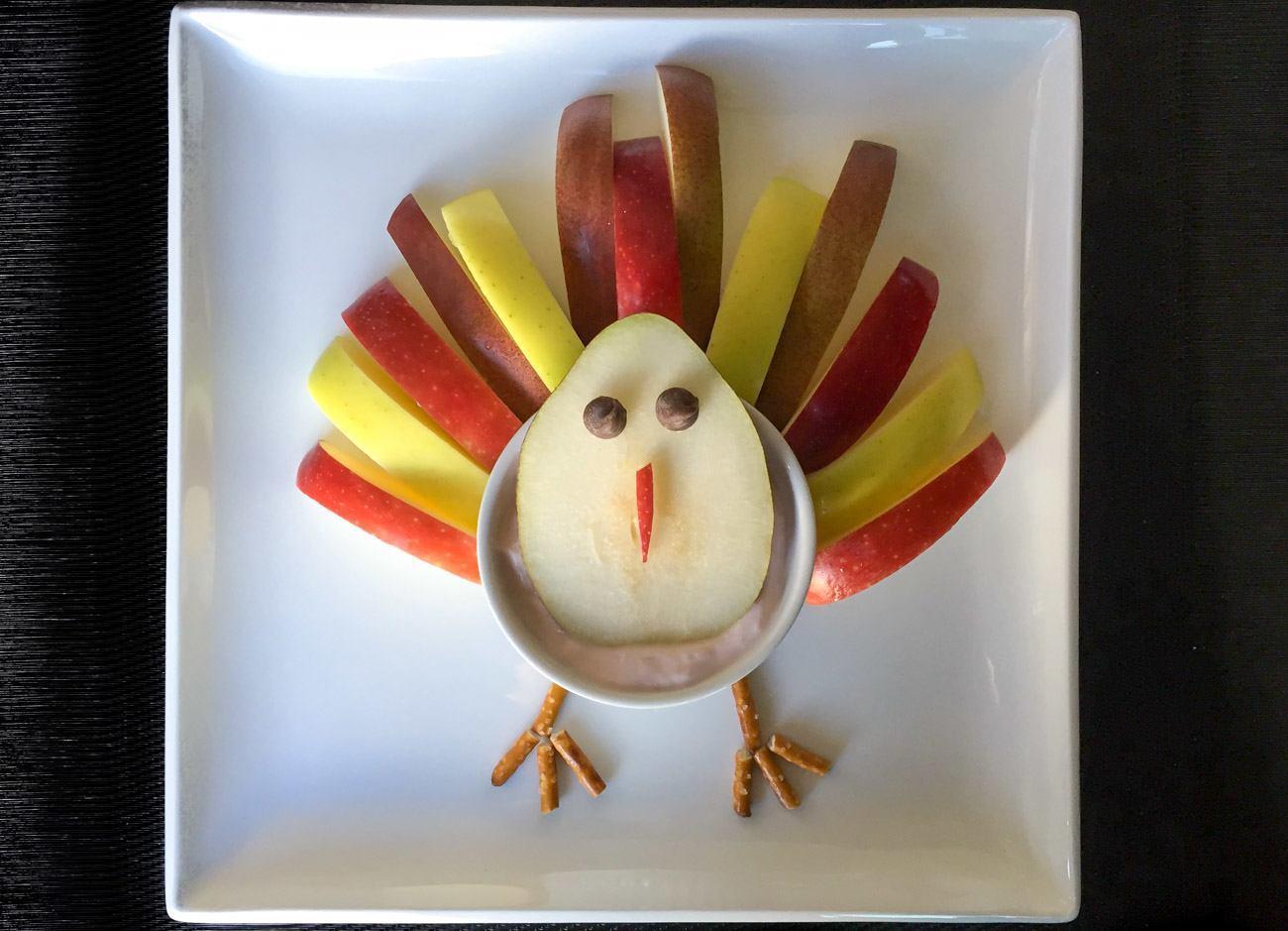 Kids Recipe: Turkey Fruit & Yogurt Snack for Thanksgiving ... | 1300 x 939 jpeg 121kB