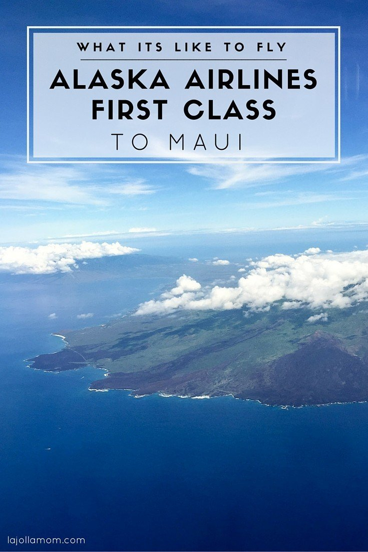 See what it's like to fly Alaska Airlines in first class from San Diego to Maui from seats to food to on board service.
