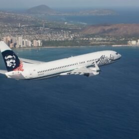 Flying Alaska Airlines First Class from San Diego to Maui
