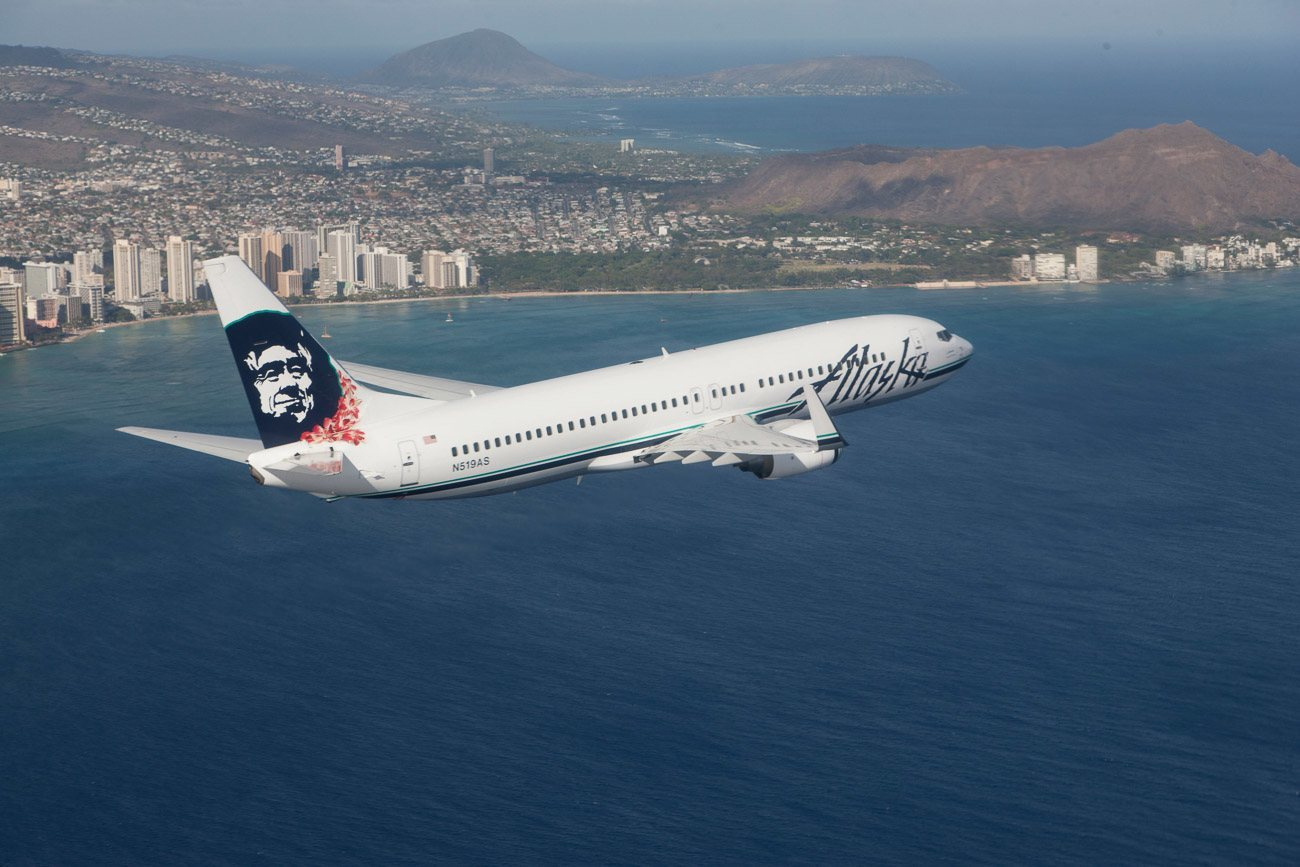 Flying Alaska Airlines in First Class from San Diego to