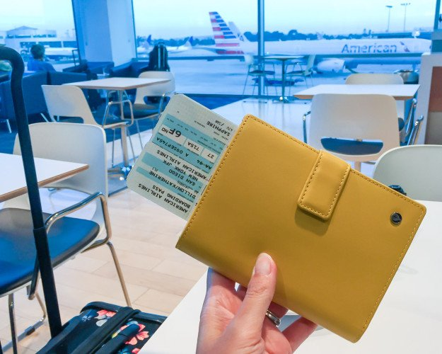 The Up and Away passport holder seamlessly holds up to 5 passports... enough for most traveling families!