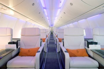 A gift card can be used toward a ticket on the Four Seasons Jet.