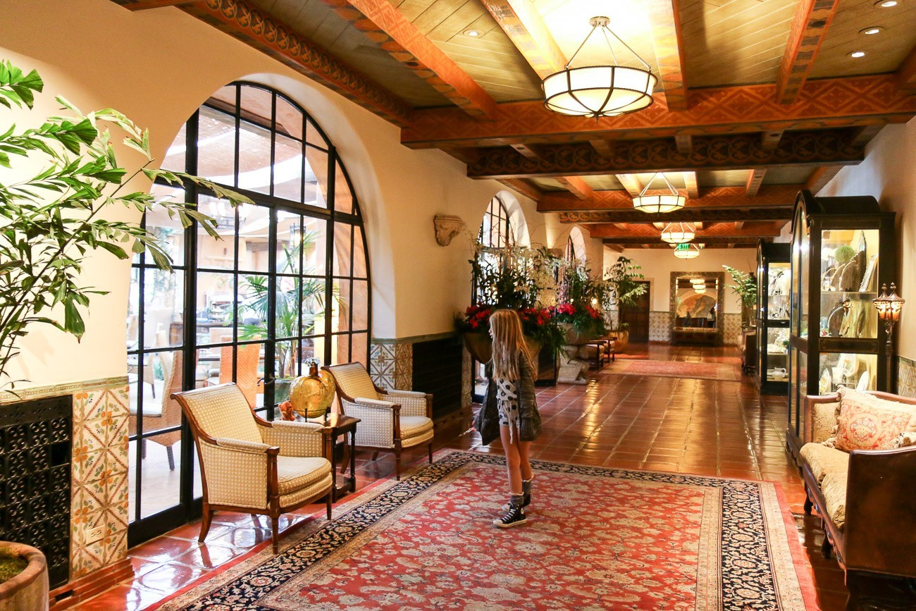The interiors of Four Seasons Resort The Biltmore Santa Barbara are just as stunning as the exterior.