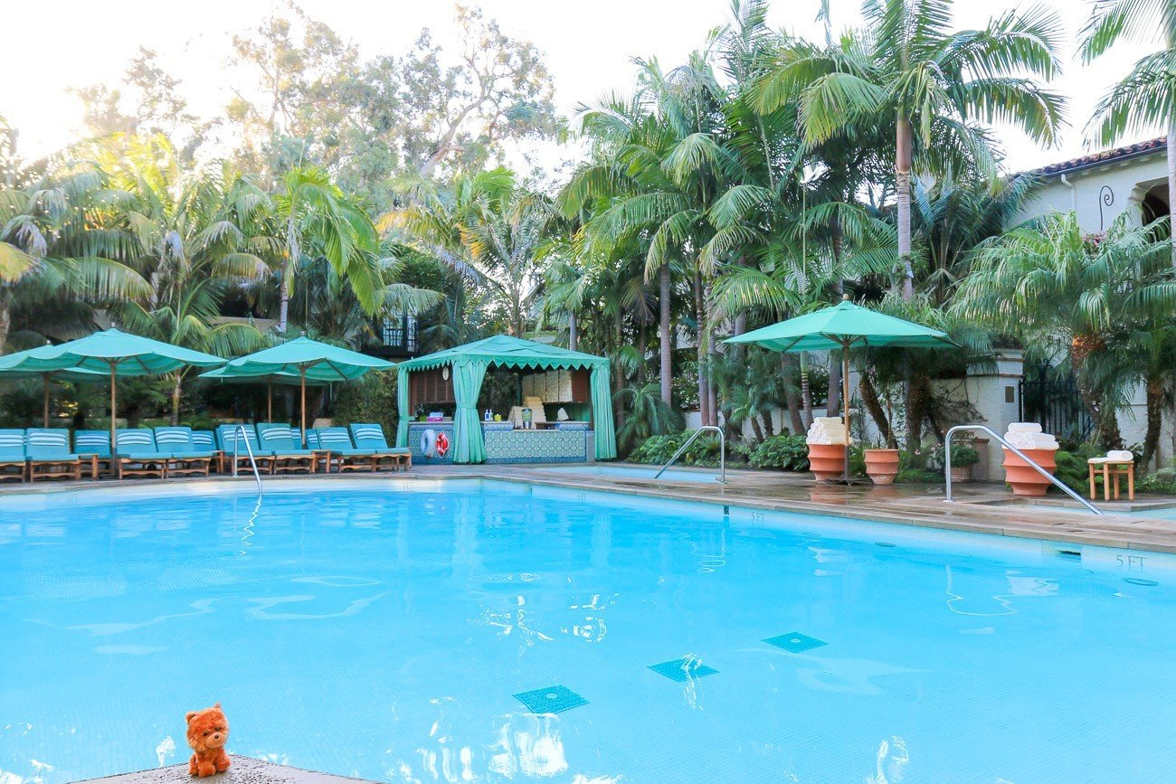 The Resort Jungle Pool at Four Seasons Resort The Biltmore Santa Barbara