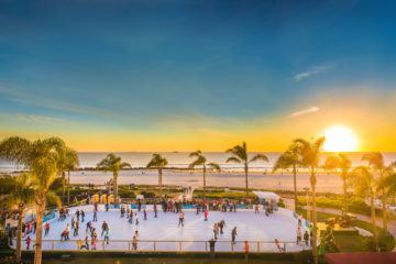 The Hotel Del Coronado offers some of the best holiday events in San Diego from Skating by the Sea to Victorian tea.