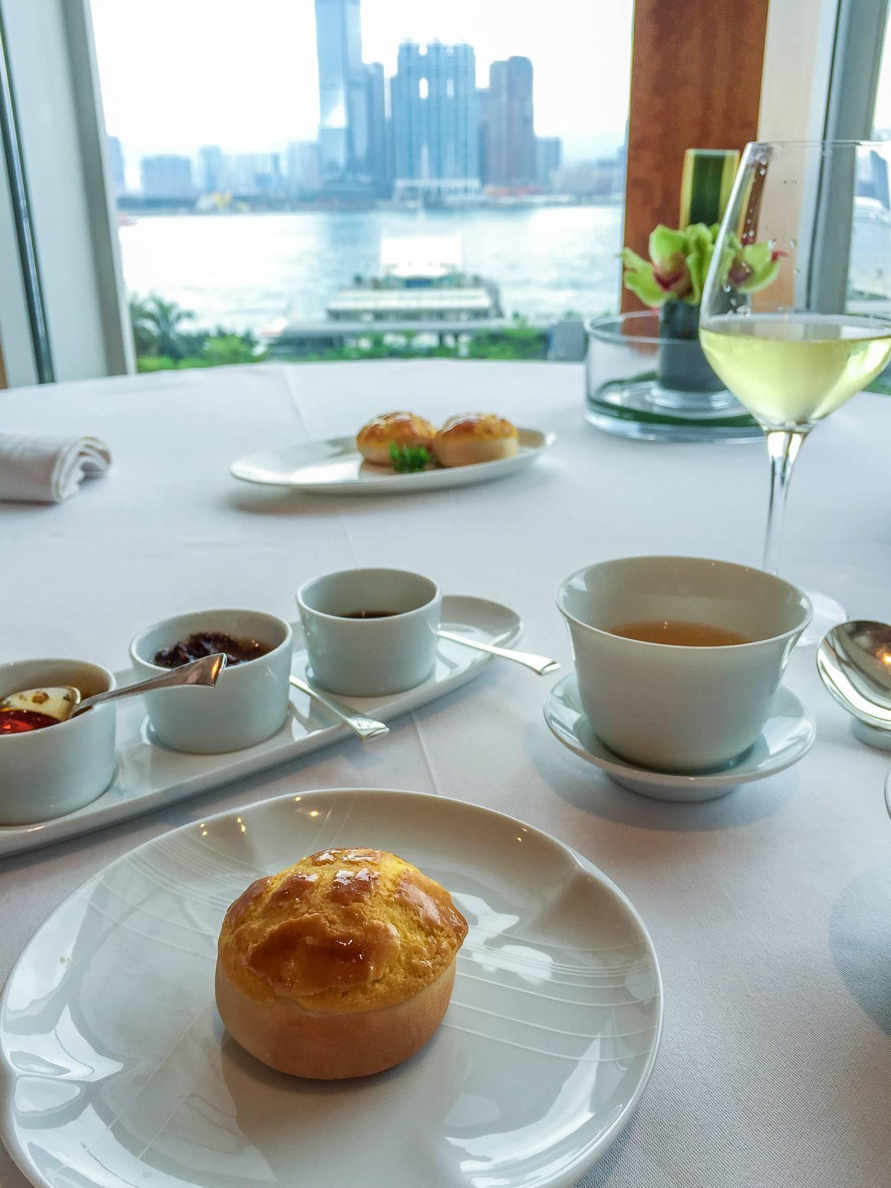 Lung King Heen restaurant at Four Seasons Hotel Hong Kong