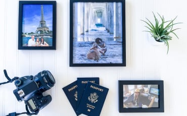 Hang travel memories with Snapfish Canvas and Decor.
