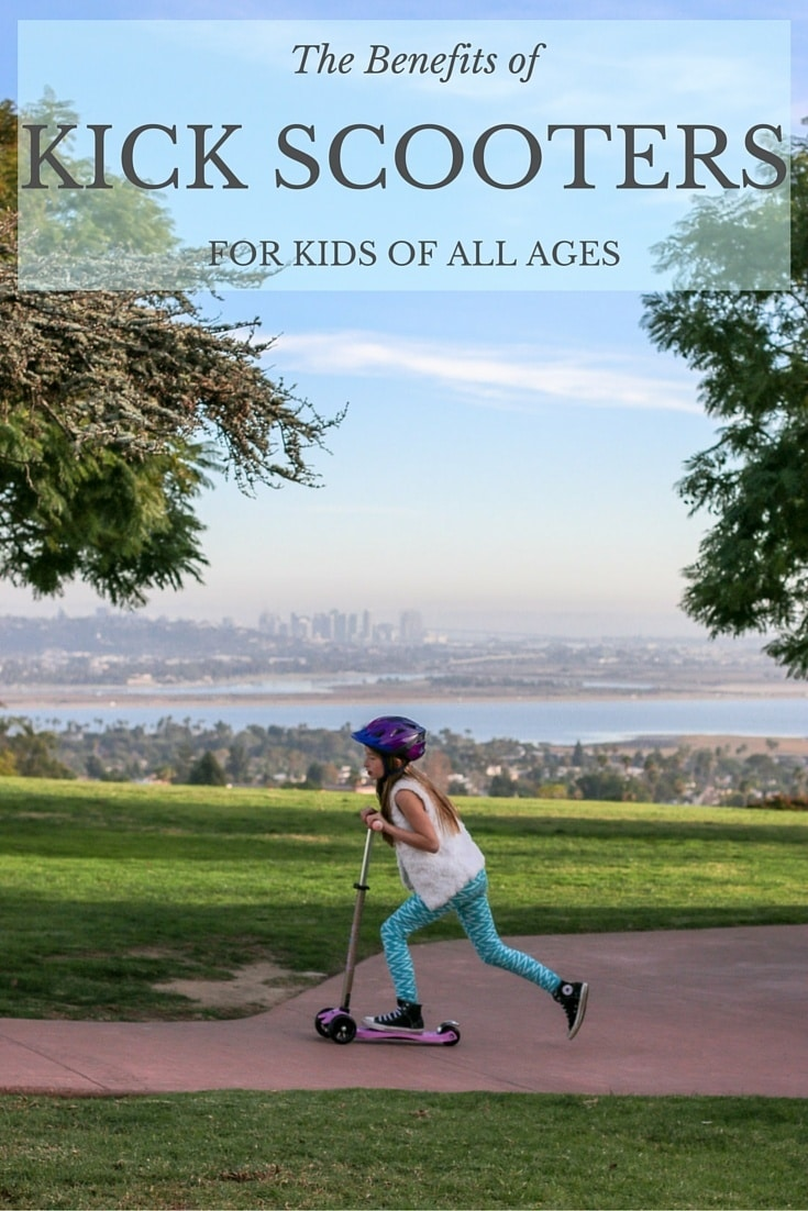 Kick scooters have a number of benefits for kids of almost all ages.