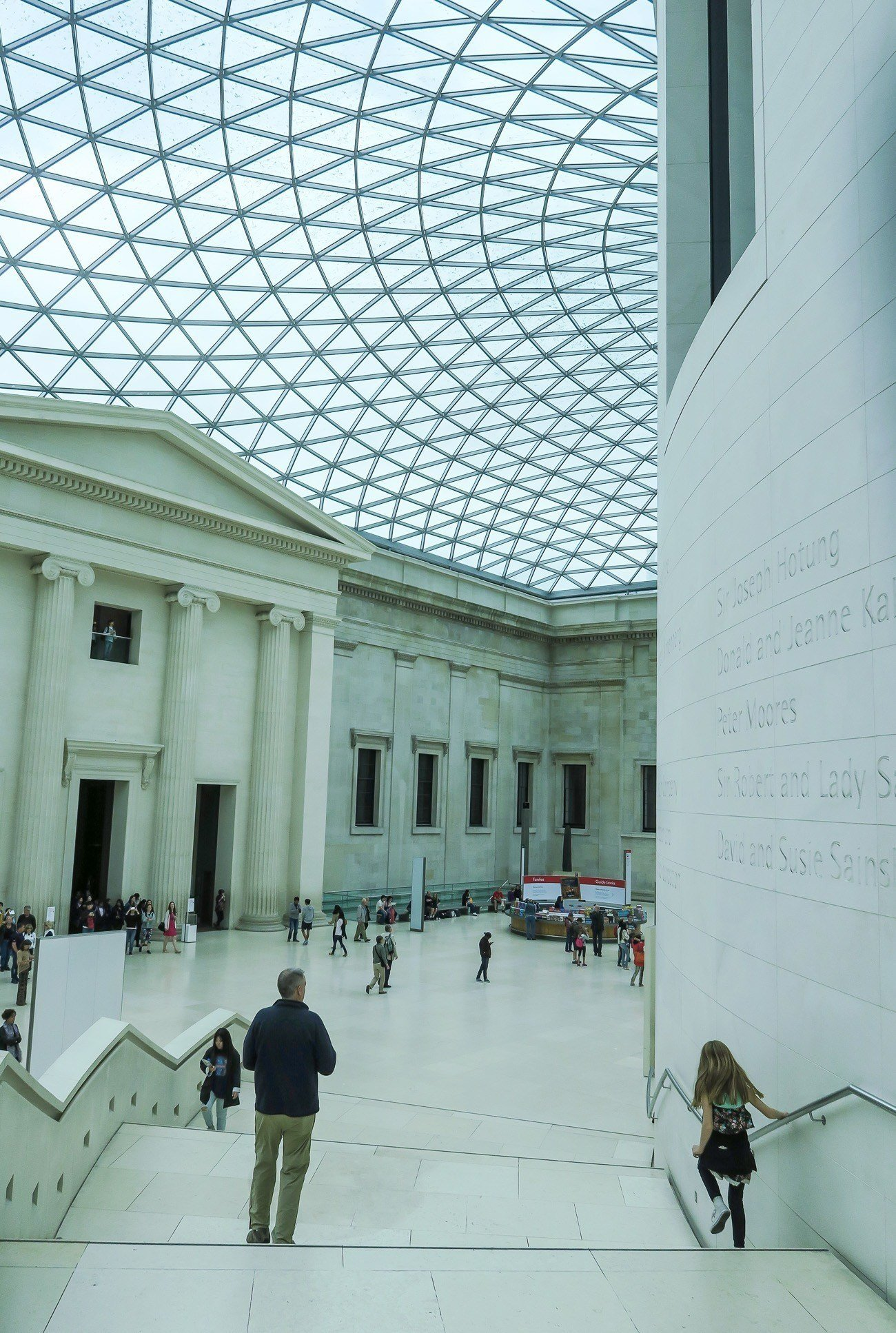 The British Museum is a must-visit attraction when on vacation in London