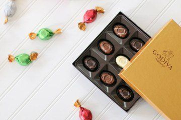Godiva chocolates at Target make a perfect casual holiday gift for people on your list.