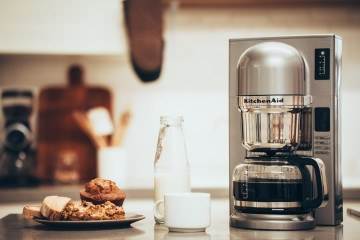 A KitchenAid Craft Coffee Maker is the perfect holiday gift for a coffee connoisseur or design-conscious person.