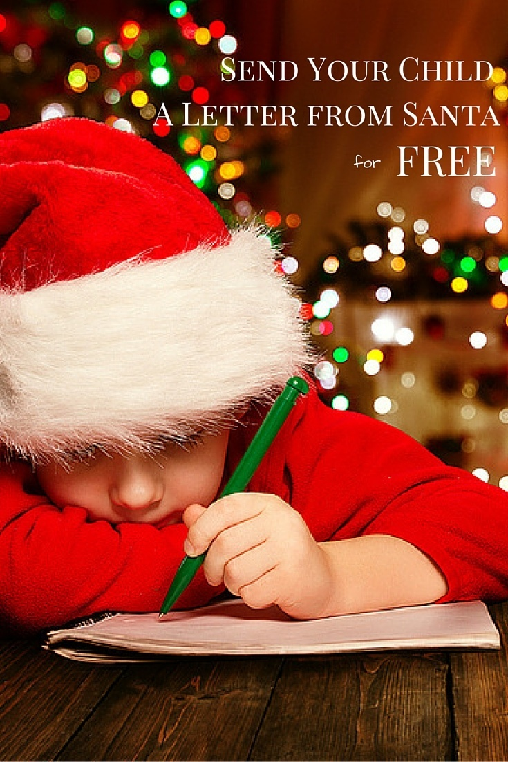 Print a free, personalized letter from Santa here that your kids will love.