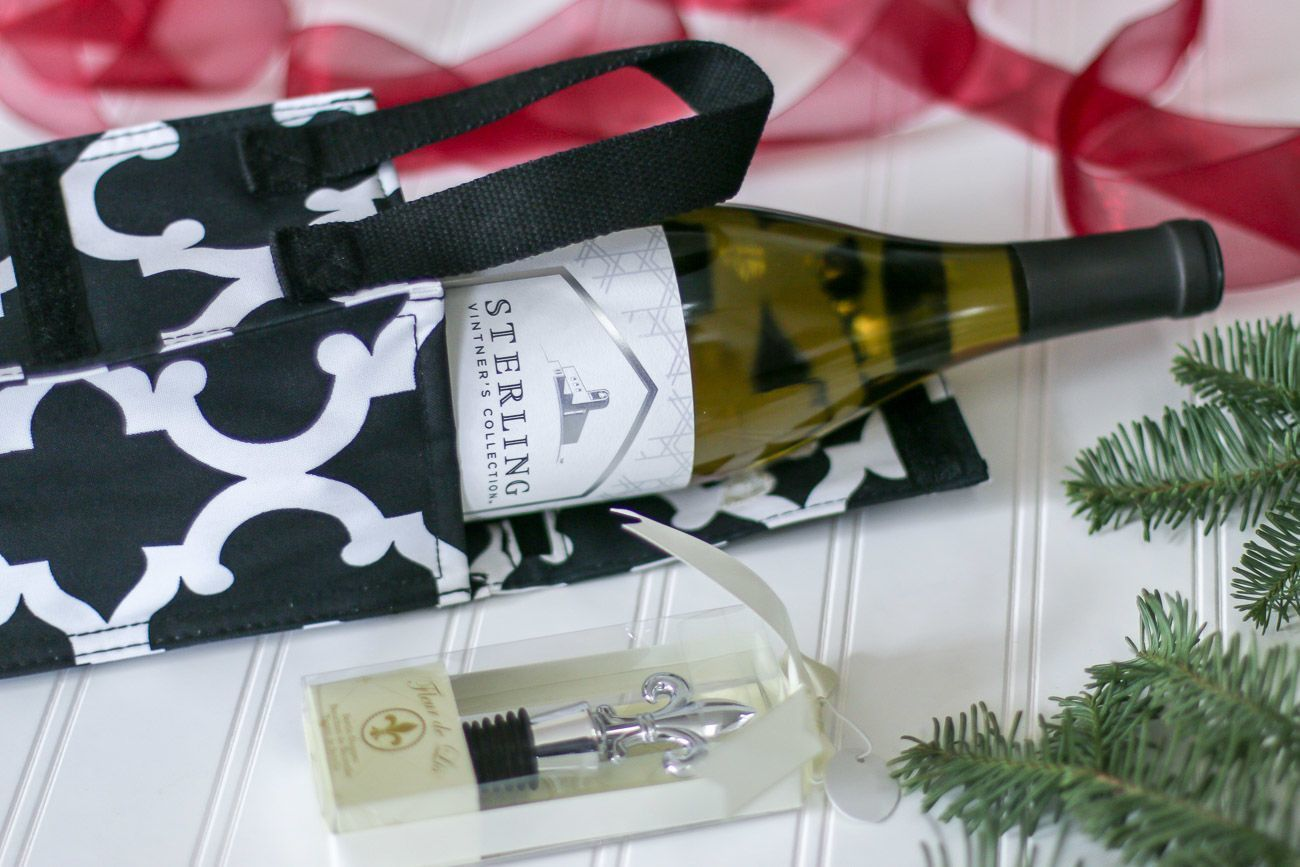 Chardonnay can travel short distances well in an insulated bag.