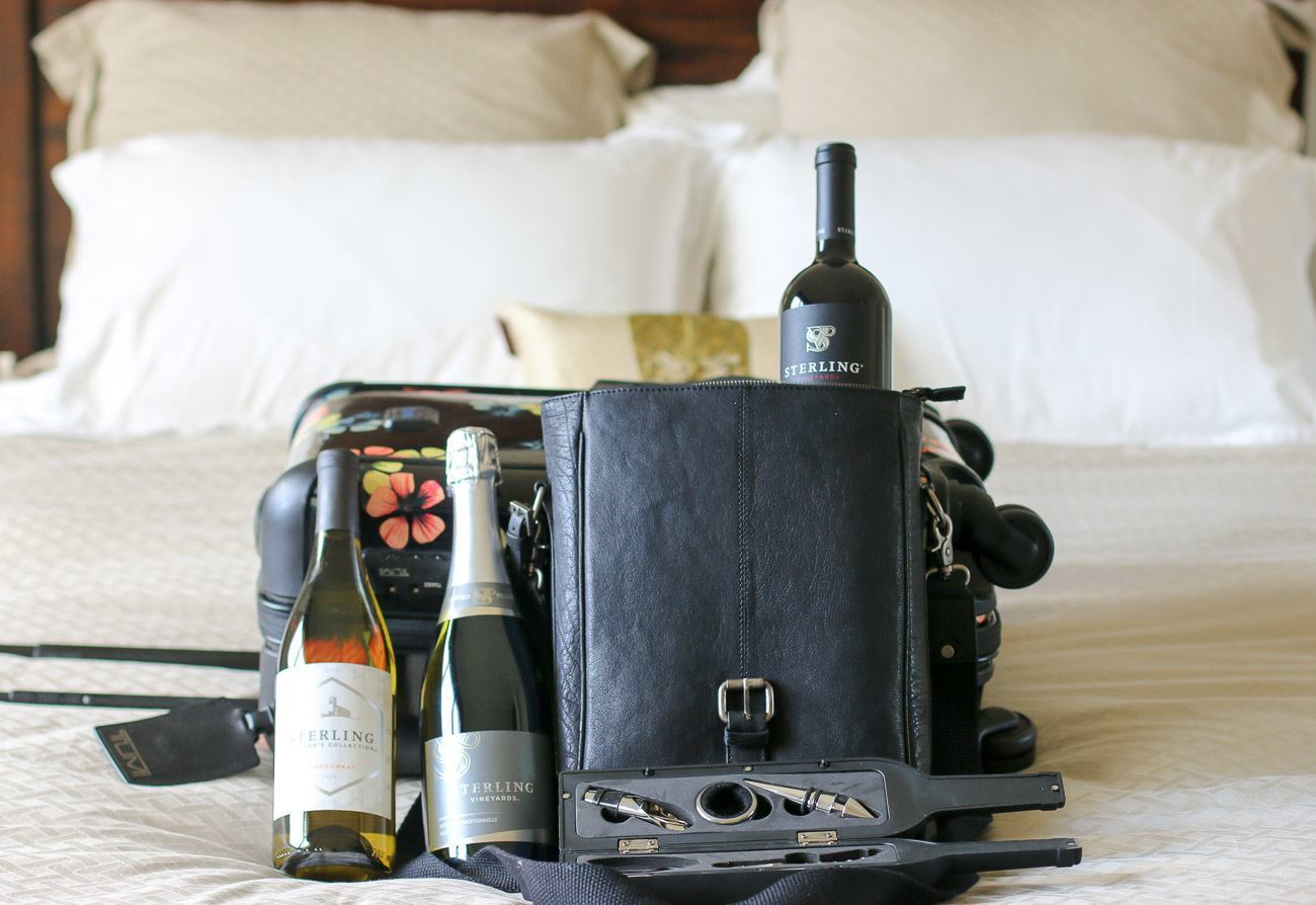 Learn how best to pack wine for traveling