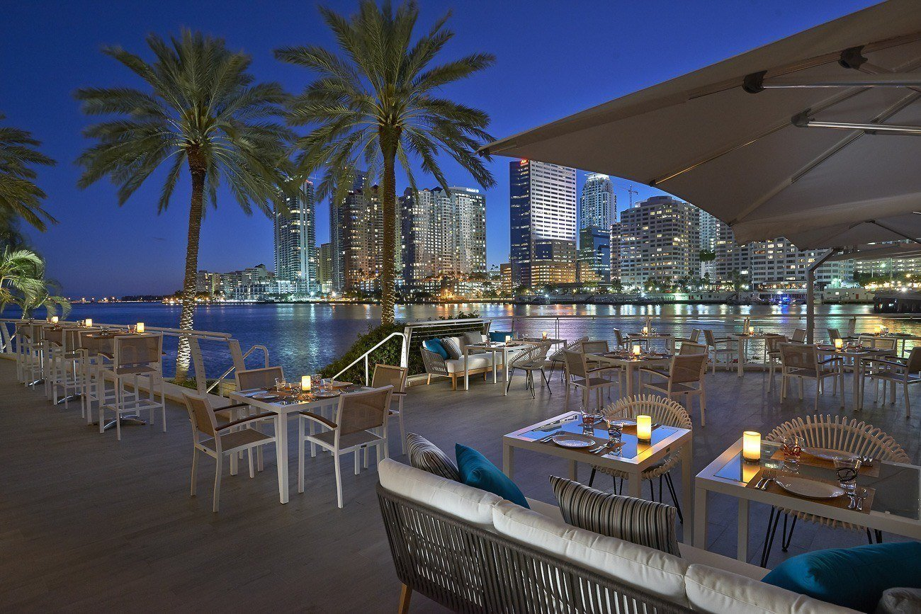 La Mar by Gaston Acurio in Mandarin Oriental, Miami is one of the best Miami restaurants.