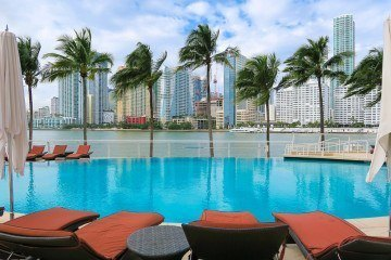 The Mandarin Oriental is one of Miami's best luxury hotels.