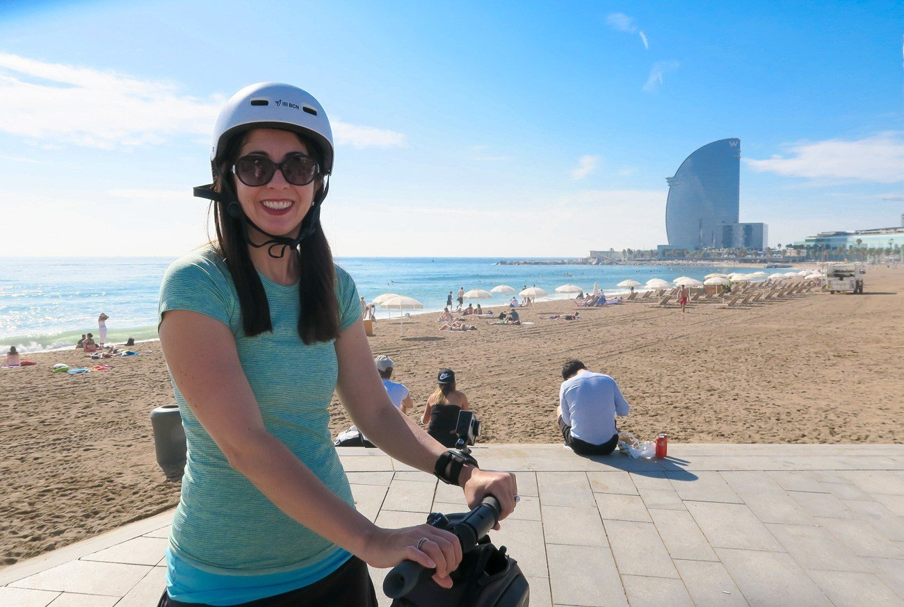 An adventure with Barcelona Segway Tours is one of the best ways to see the city.