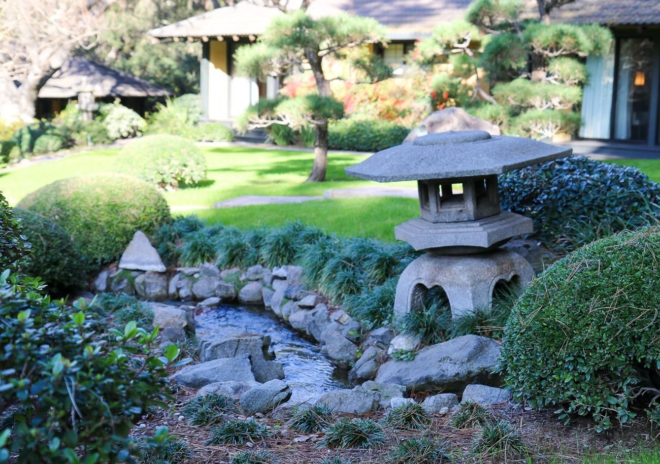 I loved wandering through the pretty Japanese gardens at Golden Door.