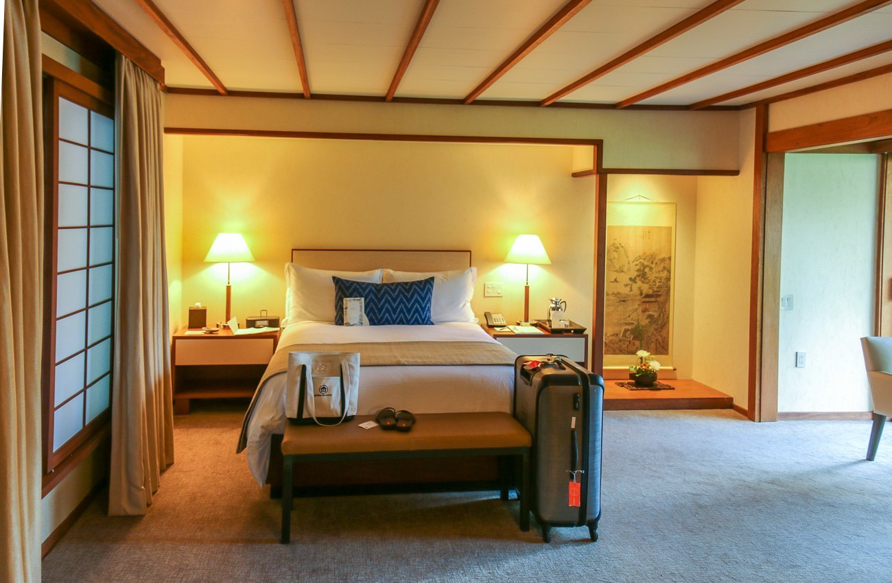 Gorgeous ryokan style accommodations at Golden Door, regarded as the best destination spa in the world.