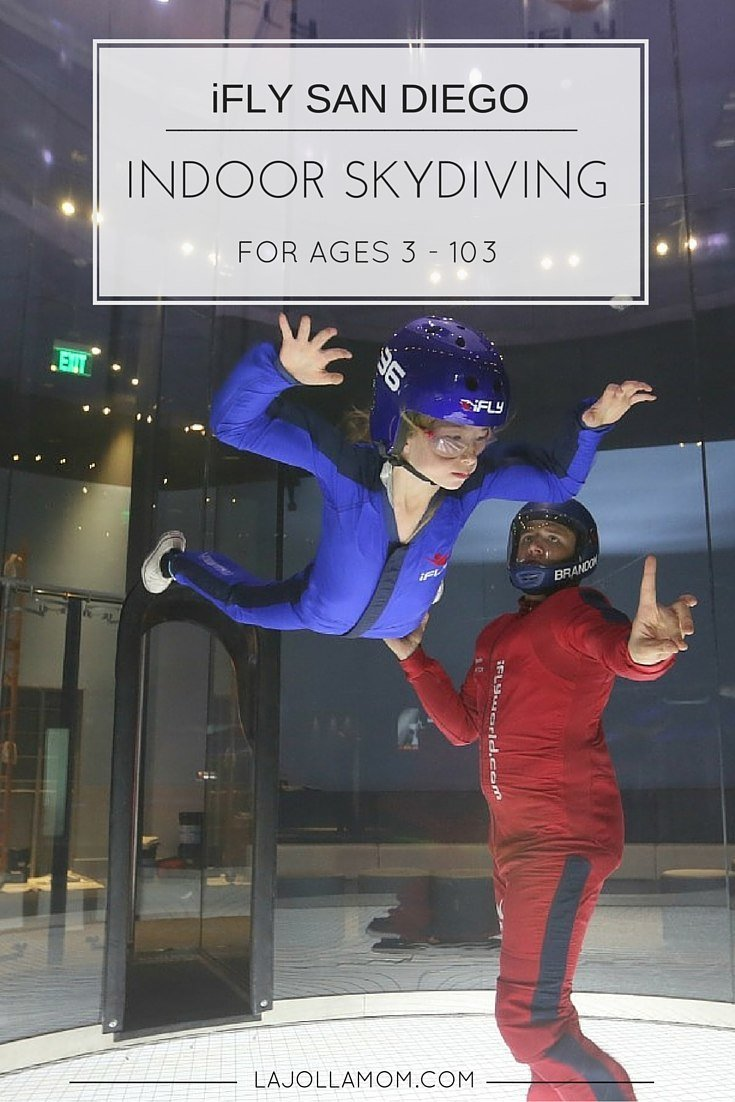 San Diego's newest attraction is indoor skydiving at iFLY in Mission Valley.