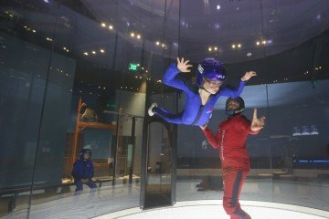 iFly now offers indoor skydiving in the heart of San Diego's Mission Valley.
