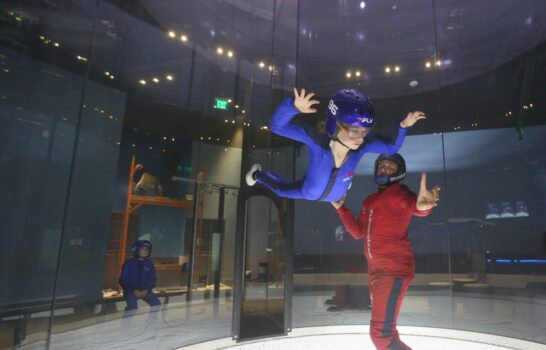 San Diego's Newest Attraction Is Indoor Skydiving at iFLY