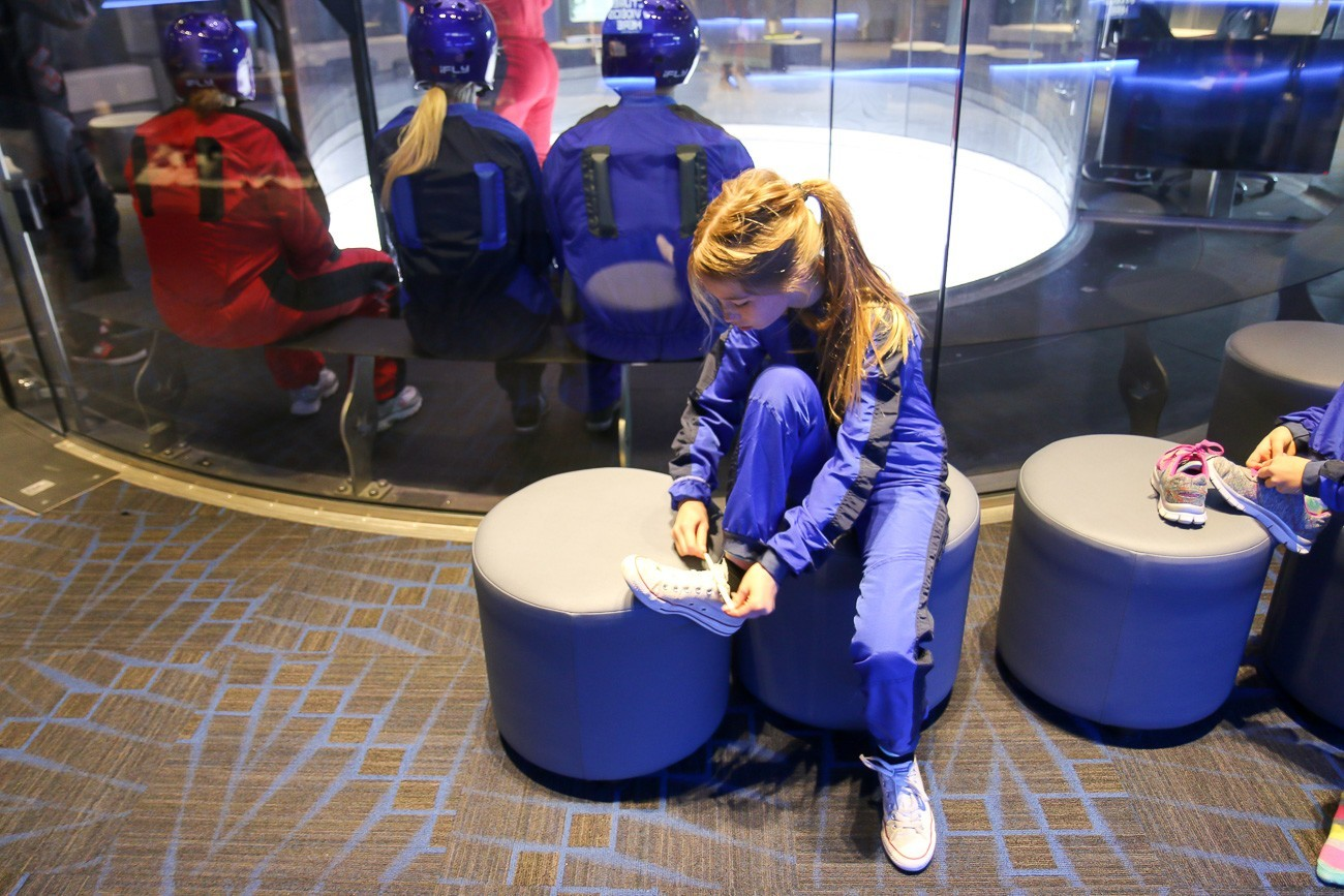 iFLY San Diego lets kids as young as 3 experience free flight!