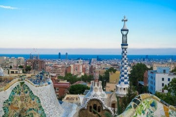 Parc Guell in Barcelona is a must-do attraction in Barcelona.