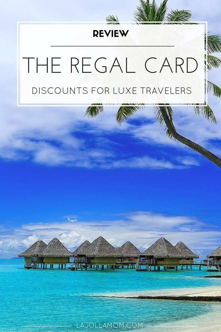 The Regal Card provides global access to a collection of luxury travel benefits for a fraction of their retail cost.