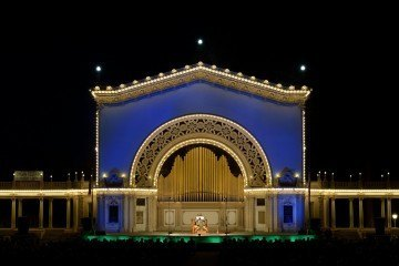 The Spreckels Organ in San Diego's Balboa Park is now the world's largest outdoor pipe organ.