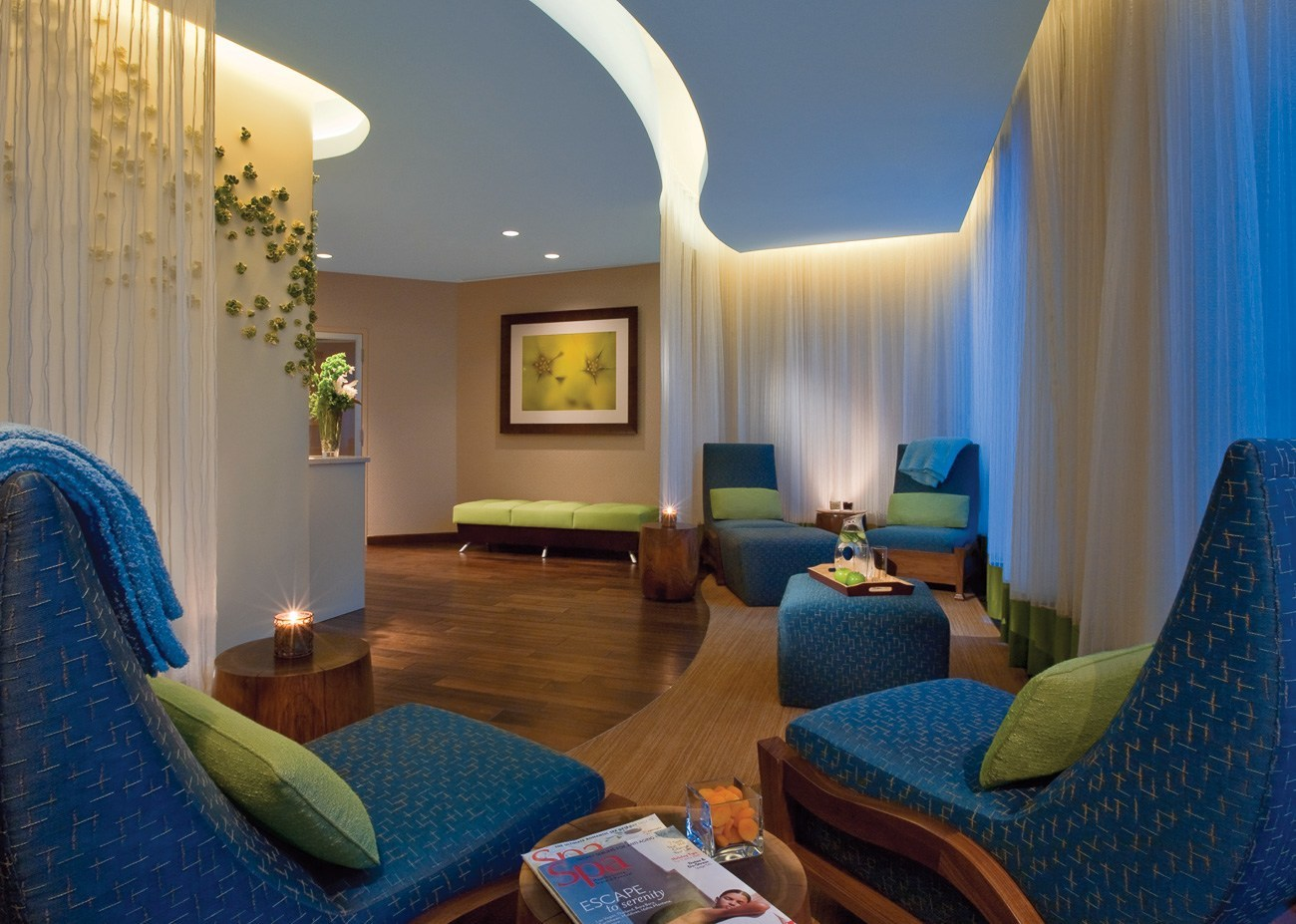 Lounge at The Spa at Four Seasons Austin