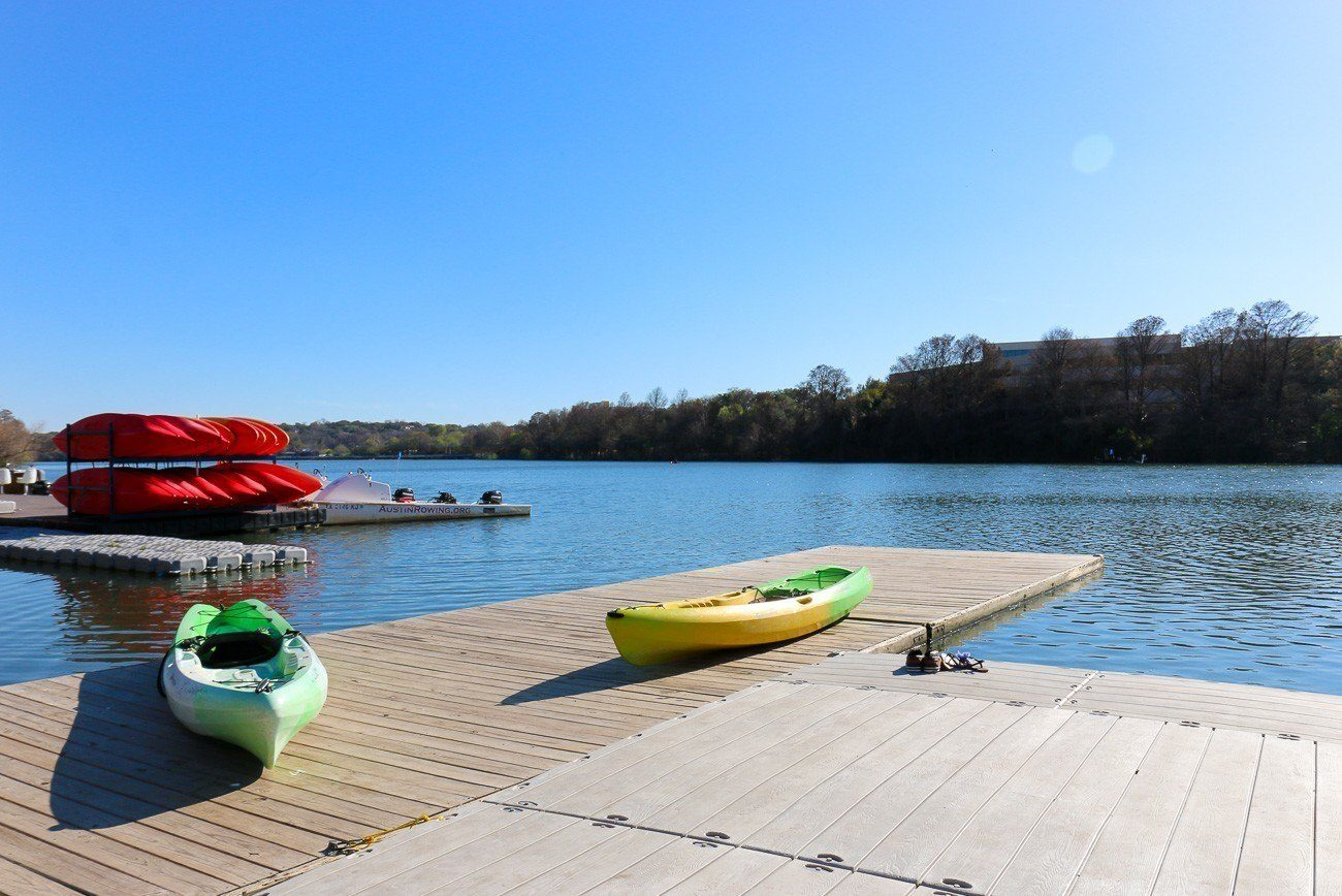 Water sports rentals are available right in front of Four Seasons Hotel Austin.