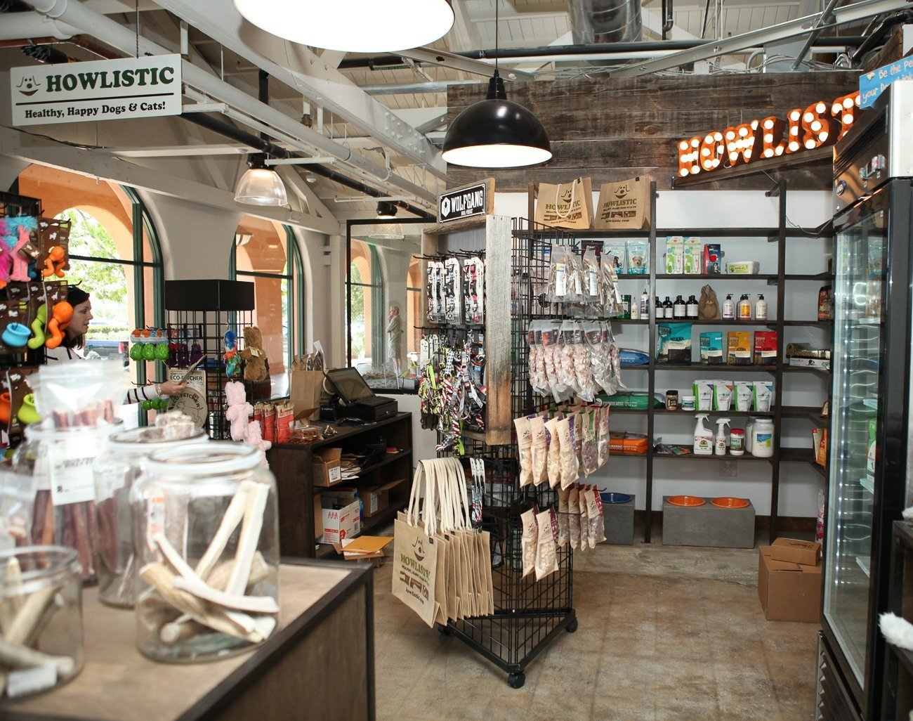A store just for dogs (and their humans) called Howlistic at Liberty Public Market in San Diego