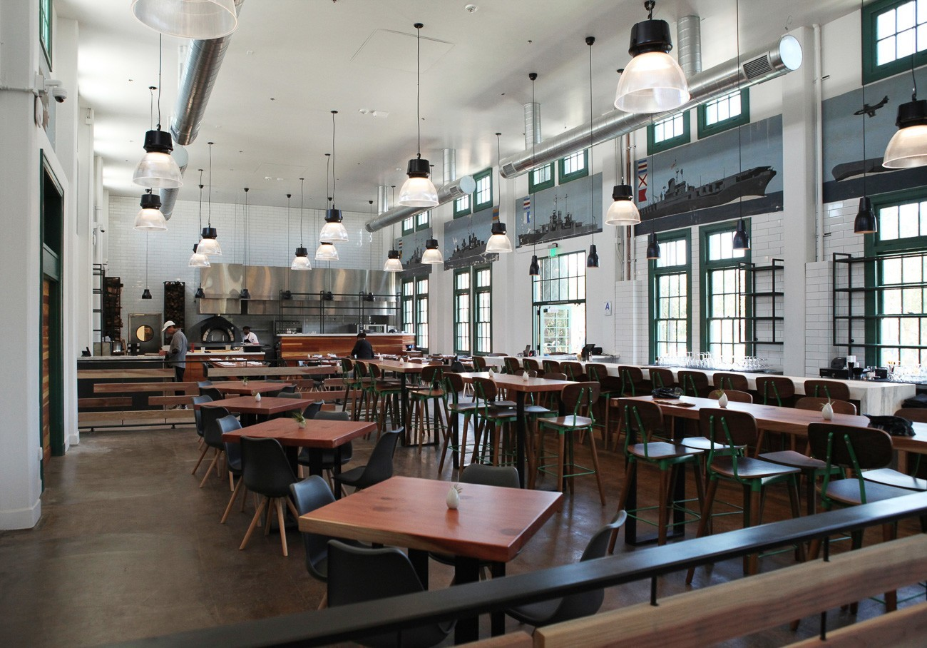 Liberty Public Market's onsite restaurant, Mess Hall, sources ingredients from market vendors.
