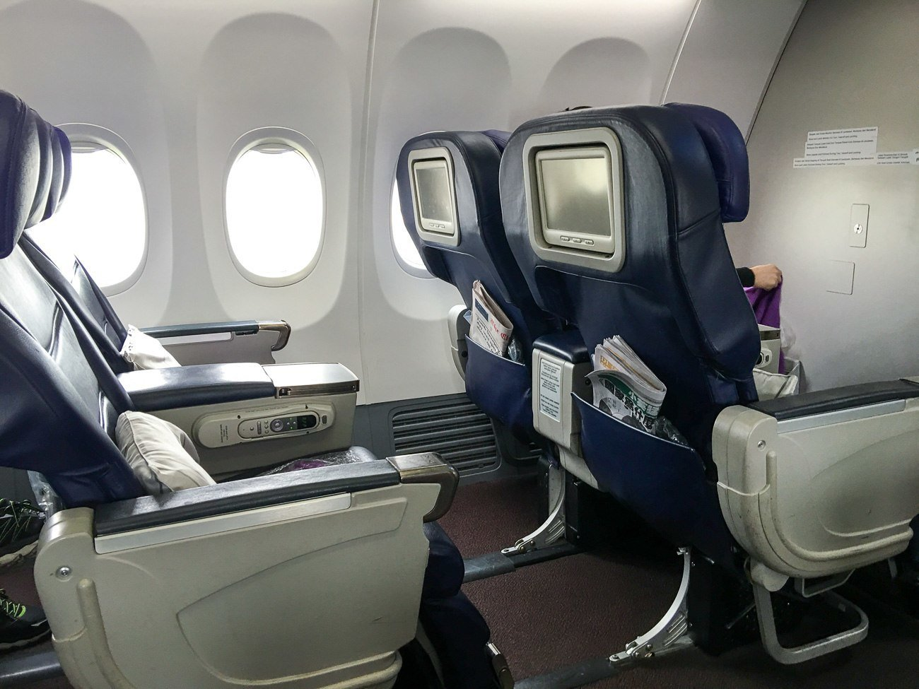 Seats on Malaysia Airlines regional business class from Taipei to Kota Kinabalu