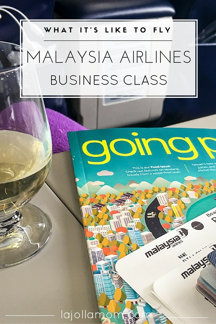What it's like to fly Malaysia Airlines business class