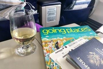 Take a peek inside of a Malaysia Airlines 737 regional business class flight from Taipei to Kota Kinabalu.