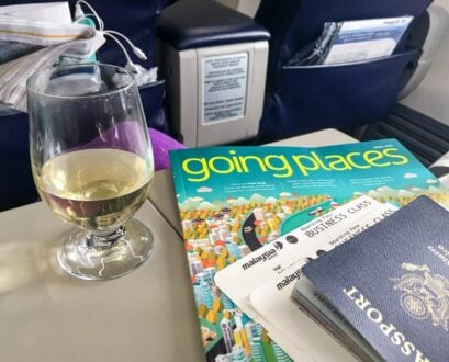 What It's Like to Fly Malaysia Airlines Regional Business Class