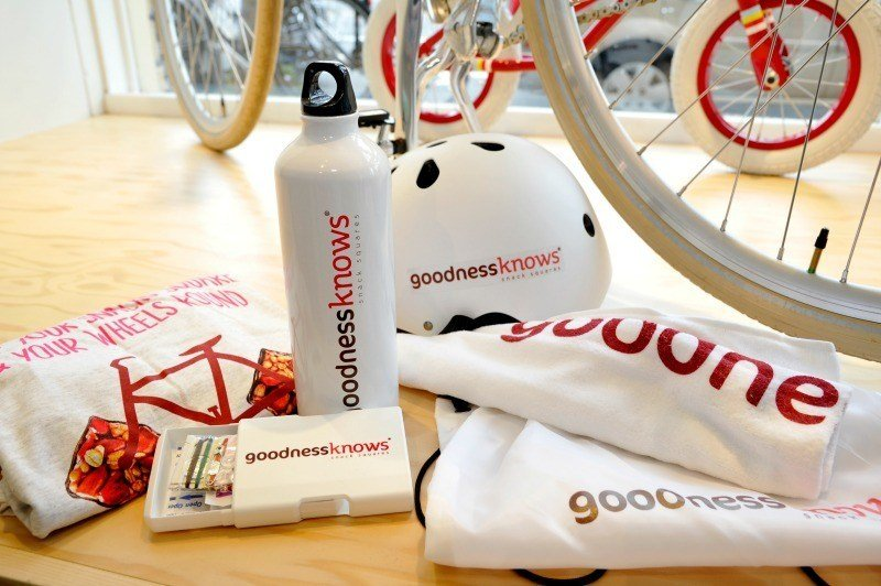 Enter to win a goodnessknows Gear Up Pack