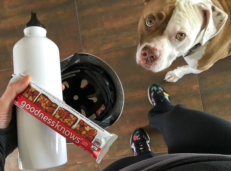 goodnessknows snack bars are a healthy way to fuel up during a workout