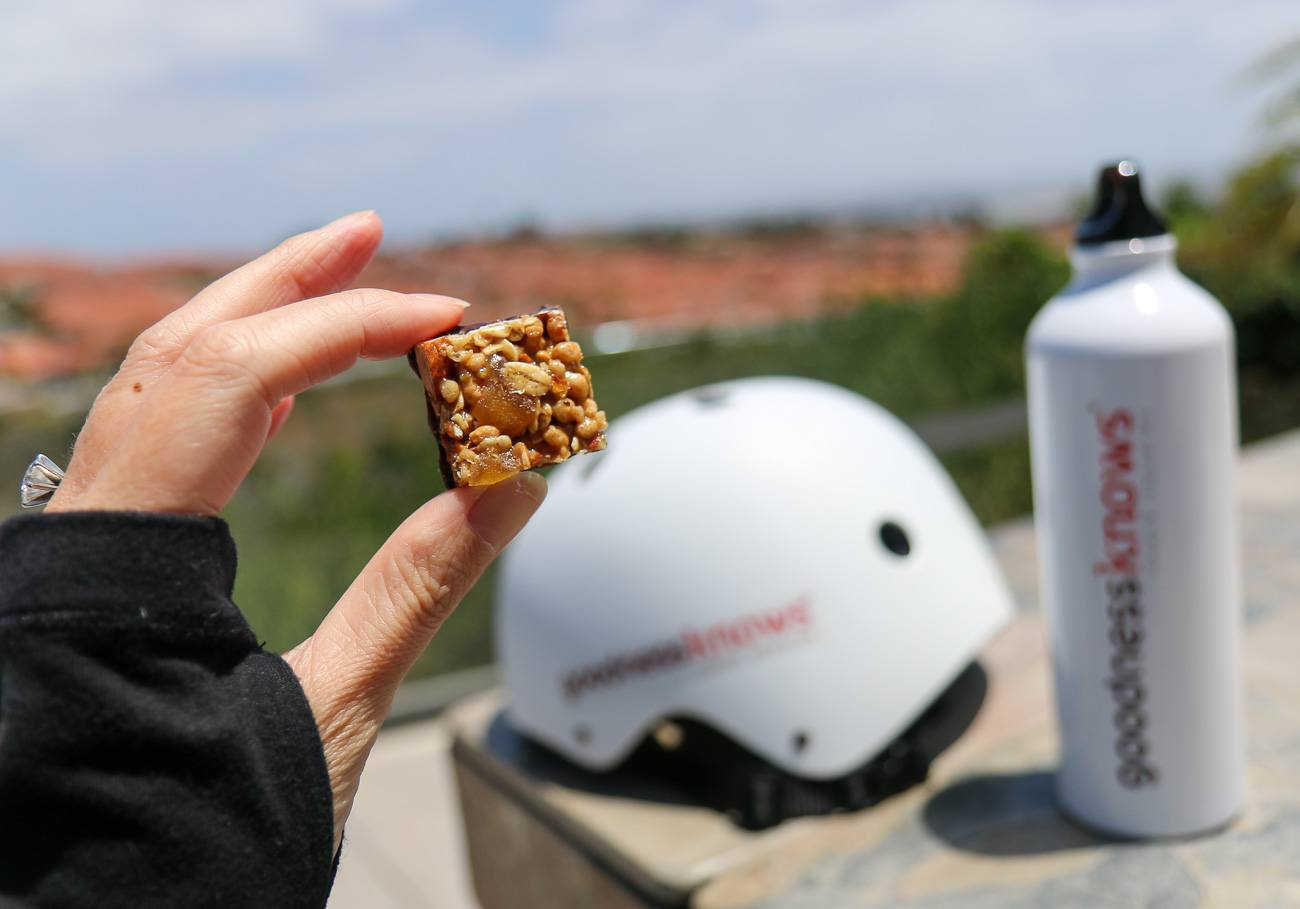goodnessknows bite-sized snack bars