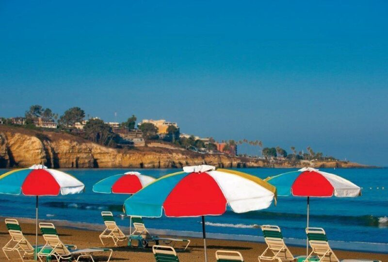 The La Jolla Beach and Tennis Club is one of San Diego's best beachfront hotels.
