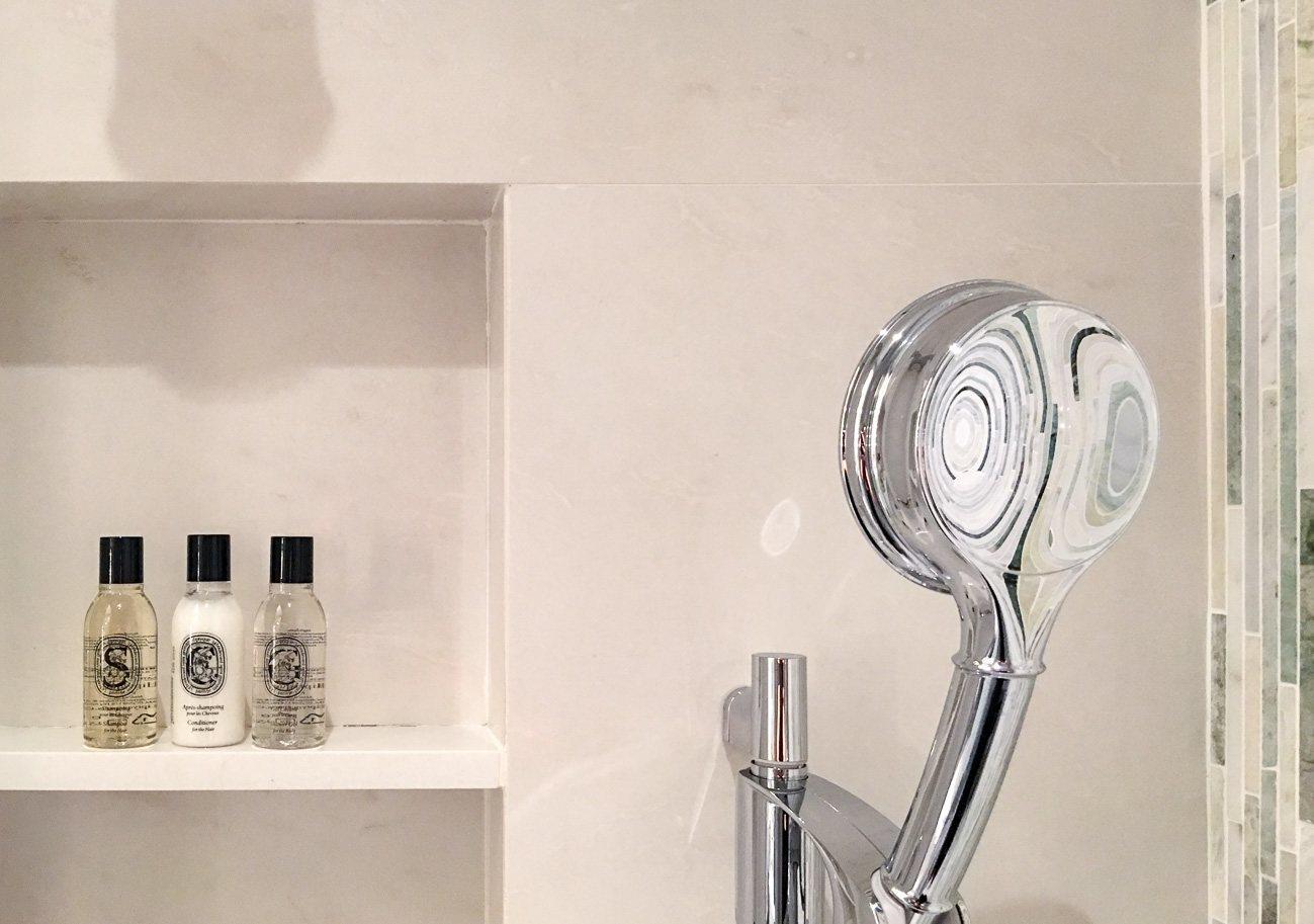 Diptyque bath products at Mandarin Oriental, Taipei