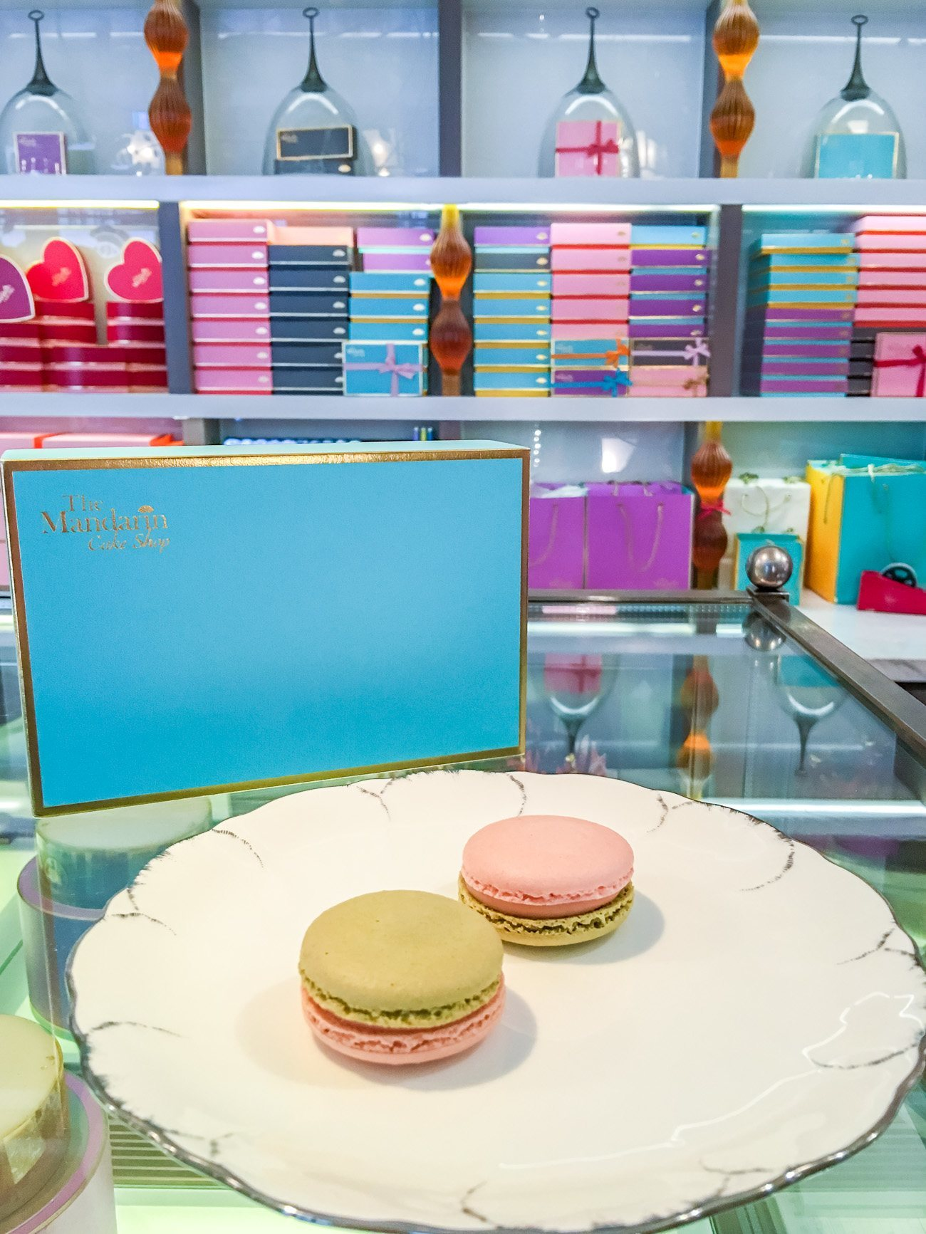 Guava macarons are a must-order at Mandarin Oriental, Taipei's Cake Shop
