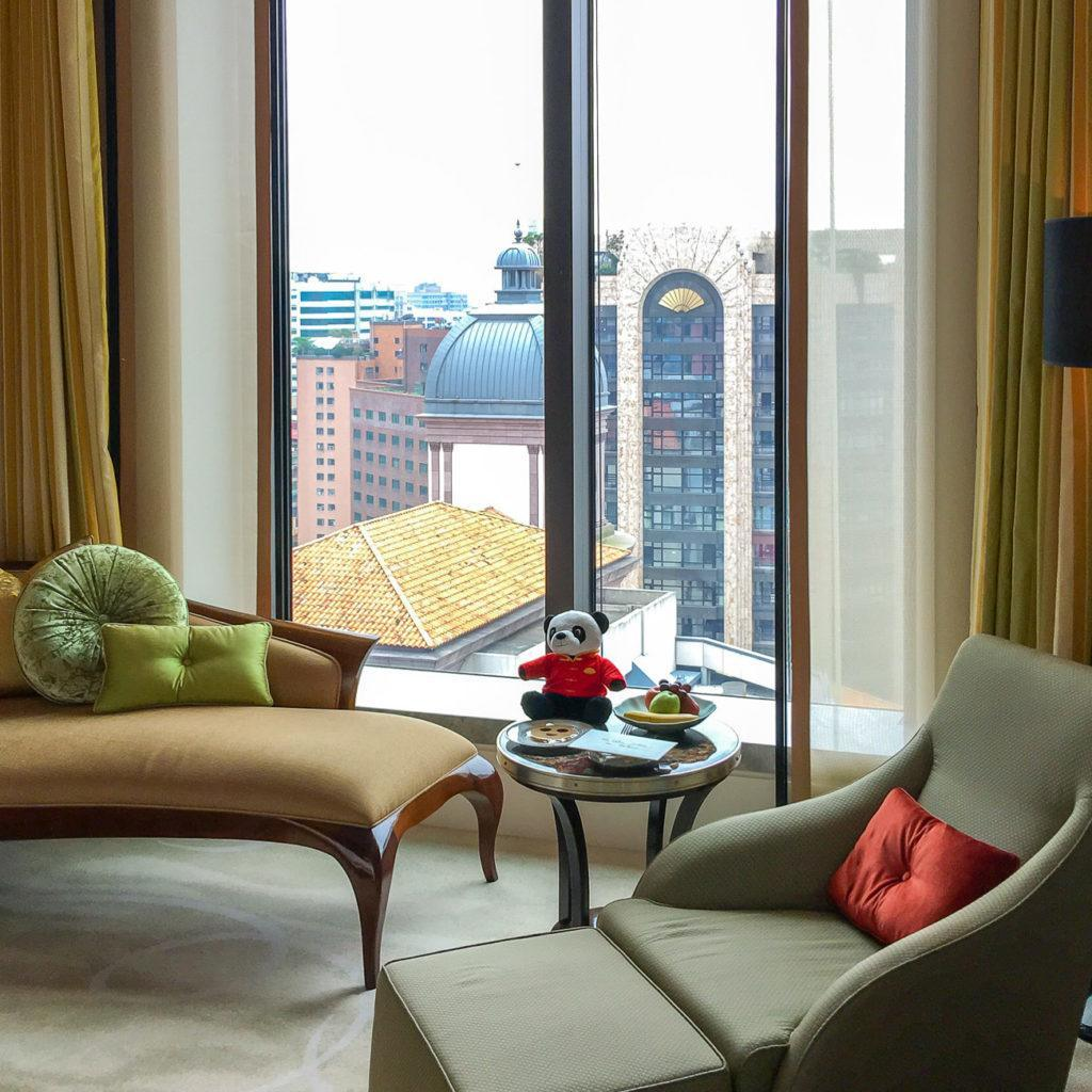 Mandarin Oriental, Taipei is a very kid-friendly luxury hotel.