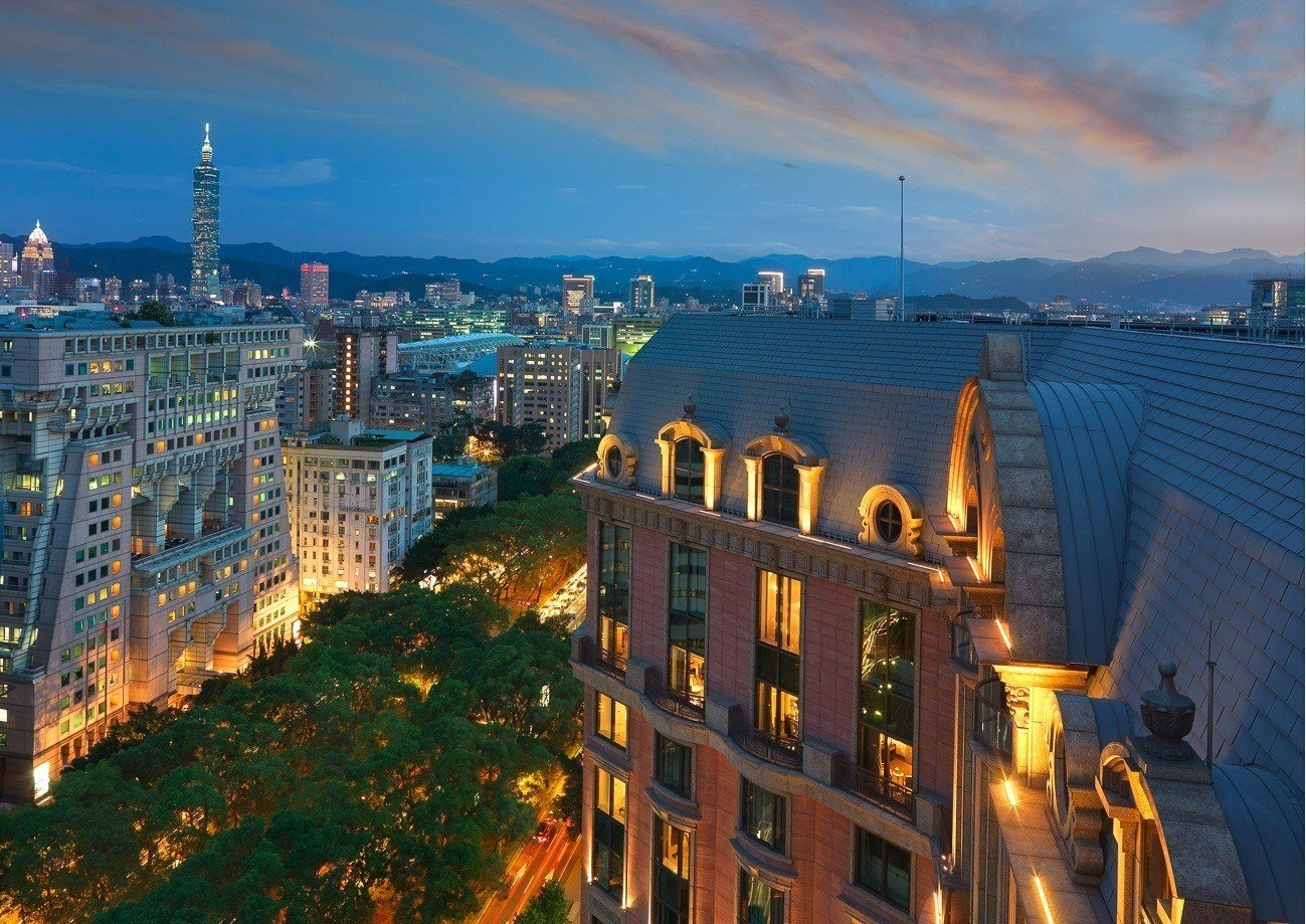 Mandarin Oriental, Taipei is now the most luxurious hotel in the city.