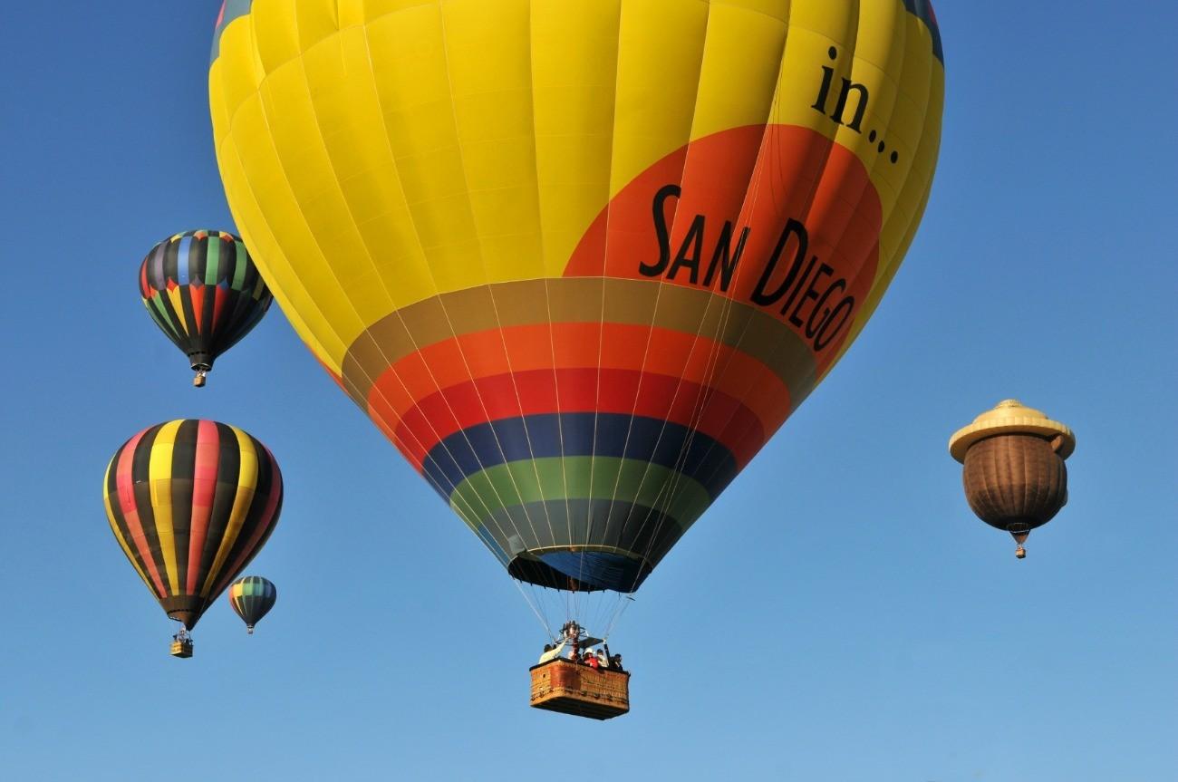 California Dreamin' - Hot Air Balloon Rides Over Temecula ...