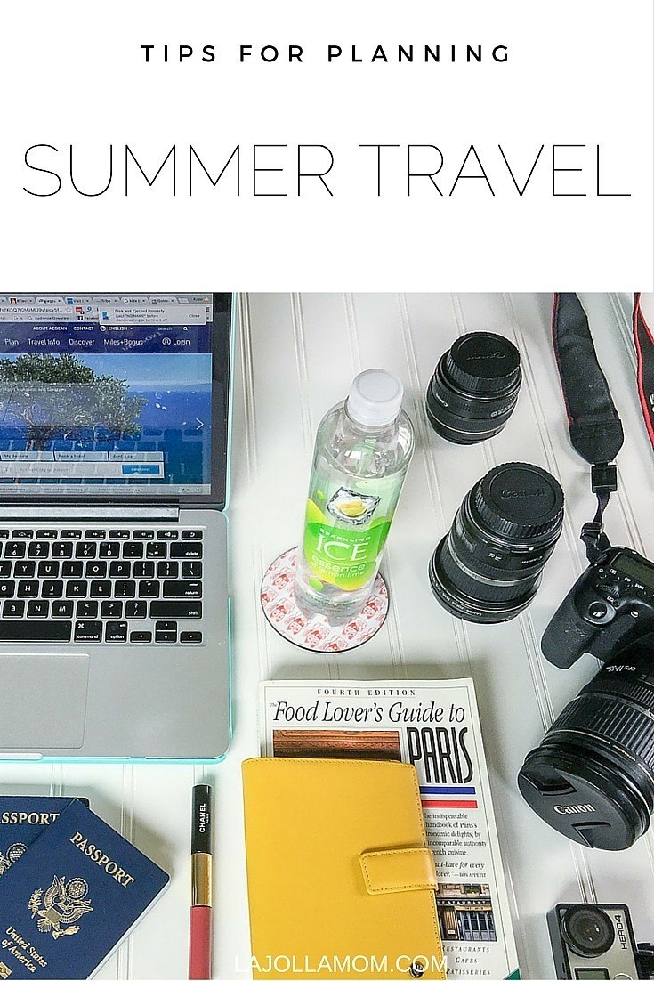 Tips for how to plan an epic summer vacation from flights to staying healthy.