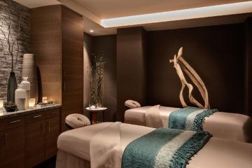 The Spa at Coronado Island inside the Marriott features ELEMIS treatments not found anywhere else in San Diego.